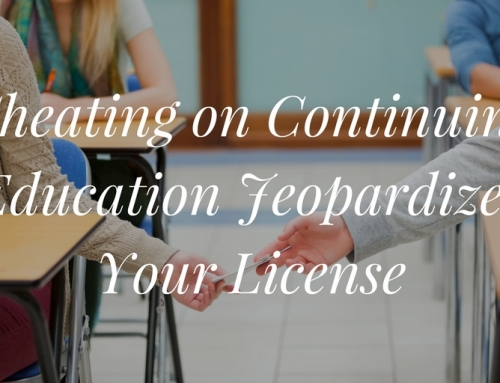 Cheating on Continuing Education Jeopardizes Your Real Estate License
