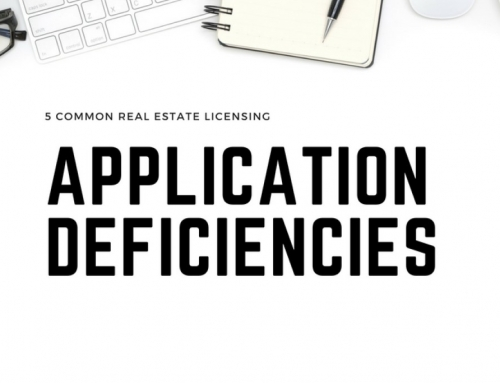 5 Common Real Estate Licensing Application Deficiencies